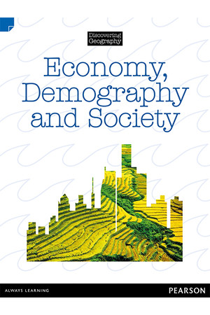Discovering Geography (Upper Primary) - Nonfiction Topic Book: Economy, Demography and Society (Reading Level 30 / F&P Level U)