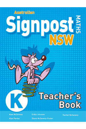 Australian Signpost Maths NSW (Second Edition) - Teacher's Book: Kindergarten