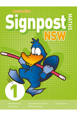 Australian Signpost Maths NSW (Second Edition) - Student Activity Book: Year 1