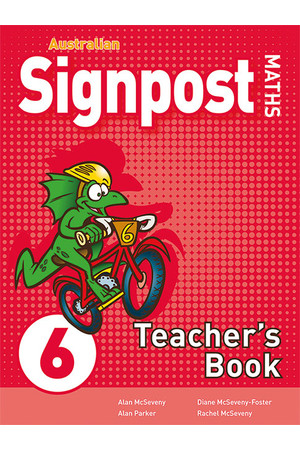 Australian Signpost Maths (Third Edition) - Teacher's Book: Year 6