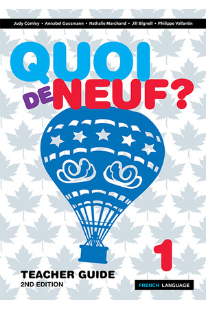 Quoi de Neuf? 1: Teachers Guide - 2nd Edition