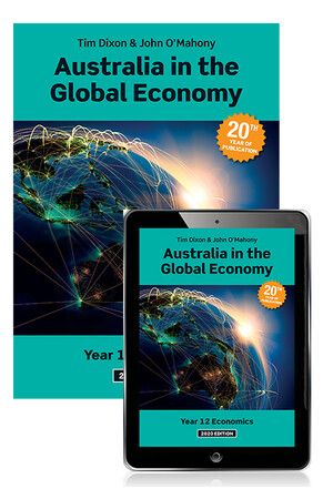 Australia in the Global Economy 2020: Student Book & eBook (Print & Digital)