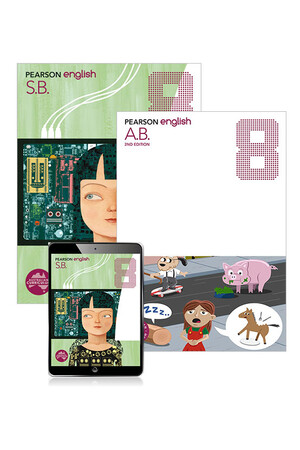 Pearson English - Year 8: Combo Pack - Student Book, eBook and Homework Program (Print & Digital)