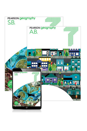 Pearson Geography - Year 7: Combo Pack - Student Book, eBook and Homework Program (Print & Digital)