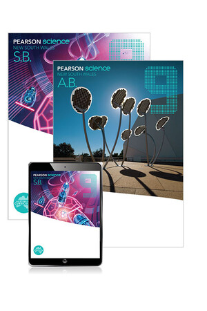 Pearson Science NSW - Year 9: Combo Pack - Student Book, eBook and Homework Program (Print & Digital)
