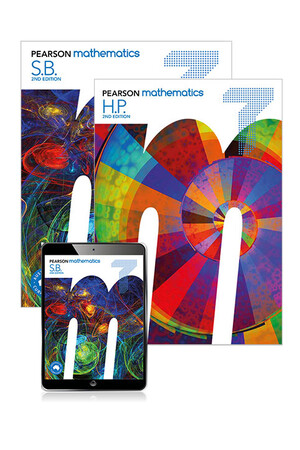 Pearson Mathematics (2nd Edition) - Year 7: Combo Pack - Student Book with eBook and Homework Program