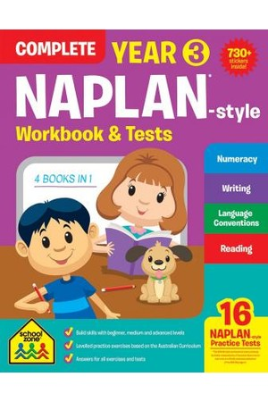 NAPLAN*-Style Year 3 Complete Workbook & Tests