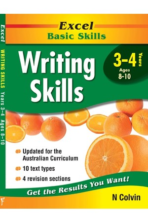 Excel Basic Skills - Writing Skills: Years 3-4