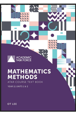 Year 11 ATAR Course Textbook - Mathematics Methods (2nd Edition)