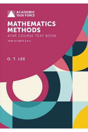 Year 12 ATAR Course Textbook - Mathematics Methods (Revised Edition)