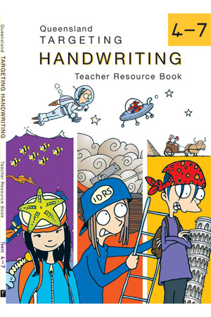 Targeting Handwriting QLD - Teacher Resource Book