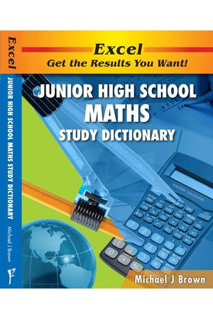 Excel Dictionaries - Junior High School Maths Study Dictionary