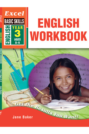 Excel Basic Skills - English Workbook: Year 3