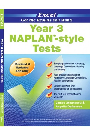 Excel - NAPLAN* Style Test: Year 3