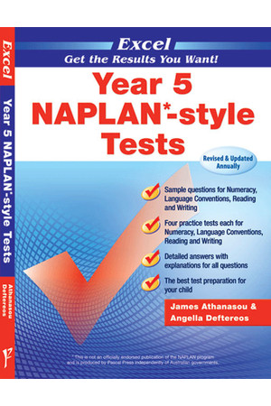 Excel - NAPLAN* Style Test: Year 5