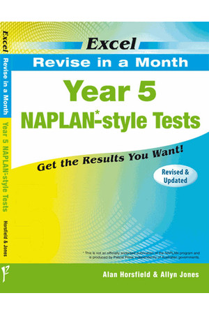 Excel - Revise in a Month - NAPLAN*-style Test: Year 5