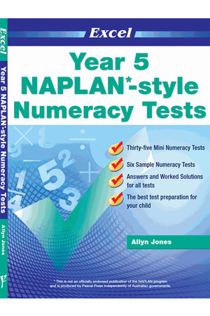 Excel - NAPLAN* Style Numeracy Test: Year 5