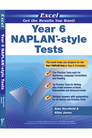 Excel - NAPLAN* Style Test: Year 6