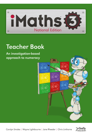 iMaths - Teacher Book: Year 3