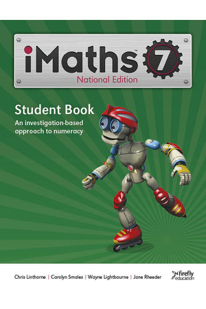 iMaths - Student Book: Year 7
