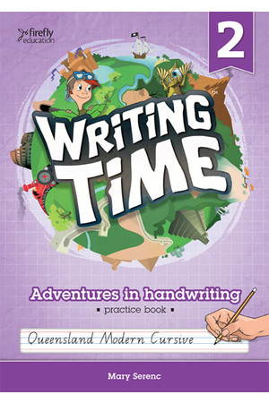 Writing Time - Student Practice Book: QLD Fonts (Year 2)