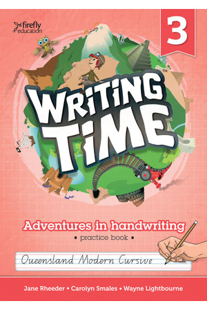 Writing Time - Student Practice Book: QLD Fonts (Year 3)