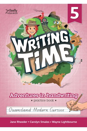 Writing Time - Student Practice Book: QLD Fonts (Year 5)