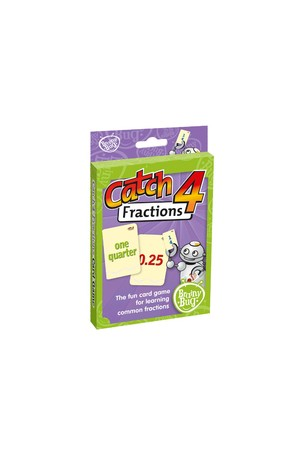 Catch 4 Fractions Card Game