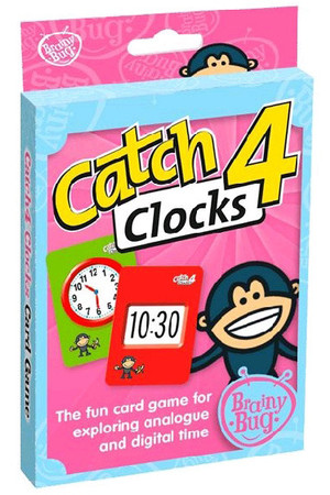 Catch 4 Clocks Card Game