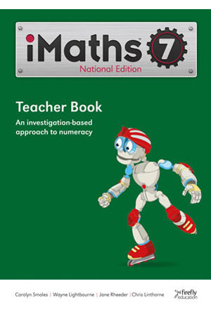 iMaths - Teacher Book: Year 7