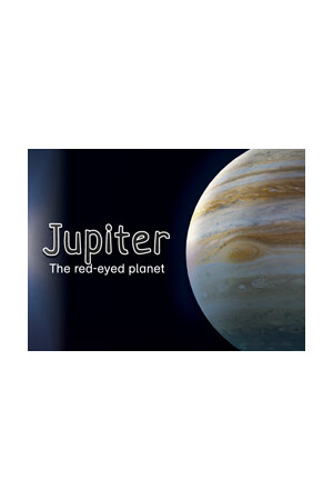 Jupiter: The red-eyed planet