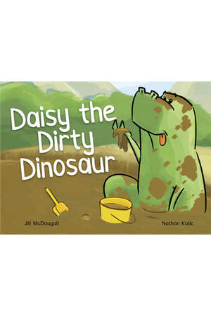 WINGS Phonics – Daisy the Dirty Dinosaur
