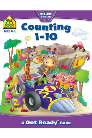 School Zone Counting 1-10