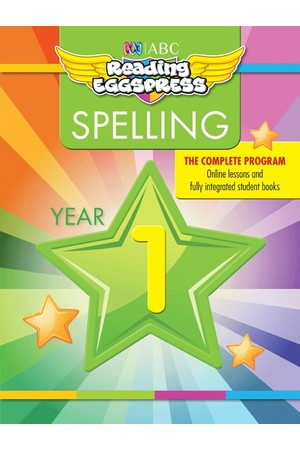 ABC Reading Eggspress - Spelling Workbooks: Year 1