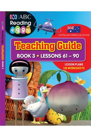 ABC Reading Eggs - Teaching Guide: Book 3 (Lesson 61-90)