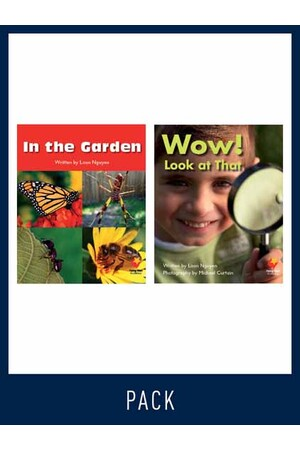 Flying Start to Literacy: Guided Reading - In the Garden & Wow! Look at That - Level 1 (Pack 8)