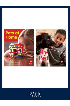 Flying Start to Literacy: Guided Reading - Pets at Home & My Pet - Level 1 (Pack 9)