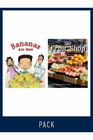 Flying Start to Literacy: Guided Reading - Bananas are Best & The Fruit Shop - Level 3 (Pack 2)