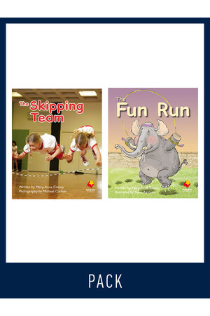Flying Start to Literacy: Guided Reading - The Skipping Team & the Fun Run - Level 9 (Pack 5)