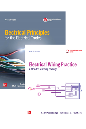 Electrical Principles for the Electrical Trades & Electrical Wiring Practice Value Pack (Print + Digital)
