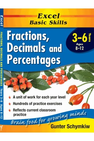 Excel Basic Skills - Fractions, Decimals and Percentages
