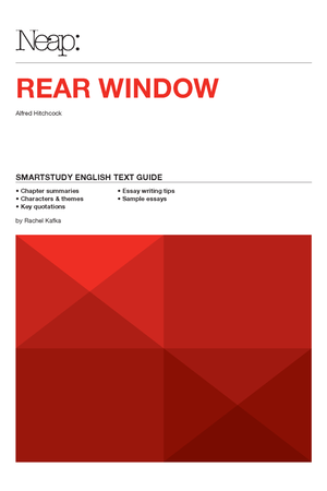 Neap Smartstudy Text Guide: Rear Window