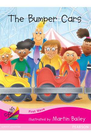 First Wave - Set 3: The Bumper Cars (Reading Level 1 / F&P Level A)