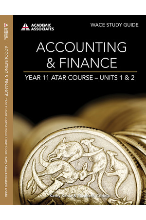 Year 11 ATAR Course Study Guide - Accounting & Finance
