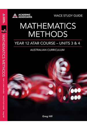 Year 12 ATAR Course Study Guide - Mathematics Methods