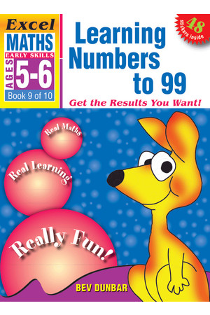 Excel Early Skills - Maths: Book 9 - Learning Numbers to 99