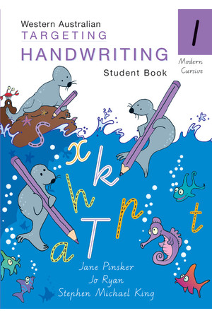 Targeting Handwriting WA - Student Book: Year 1