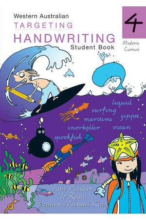 Targeting Handwriting WA - Student Book: Year 4