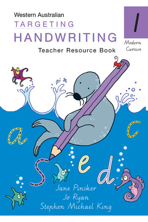 Targeting Handwriting WA - Teacher Resource Book: Year 1