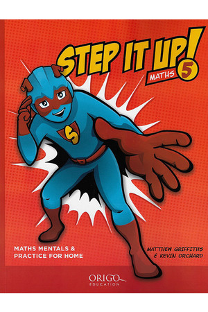 Step It Up! - Maths Mentals & Practice for Home: Year 5